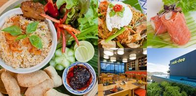 """สุดฟินกับอาหารไทยและเทศ ในบรรยากาศสุดหรู วิวทะเล 5 ดาว """"Roy Dee"""""""
