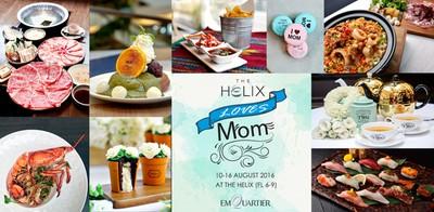 """วงในพา""""อิ่ม อุ่น อร่อย""""กับคุณแม่ที่ The Helix Loves Mom @TheEmQuartier"""