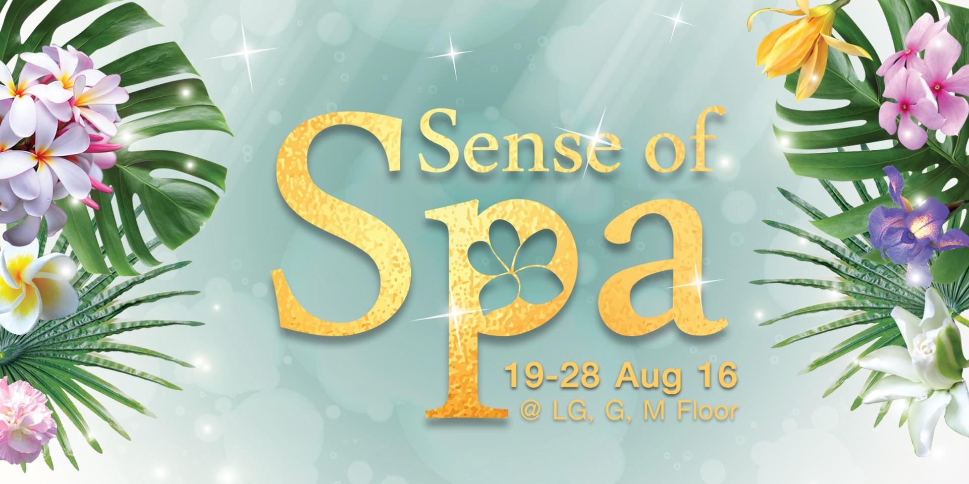 ได้เวลาผ่อนคลาย อีเว้นท์รวมสปาชั้นนำทั่วไทย ' Sense of Spa 2016 '