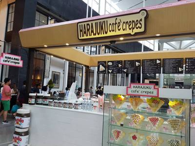 ร้านอาหาร Harajuku Cafe Crepes Central world