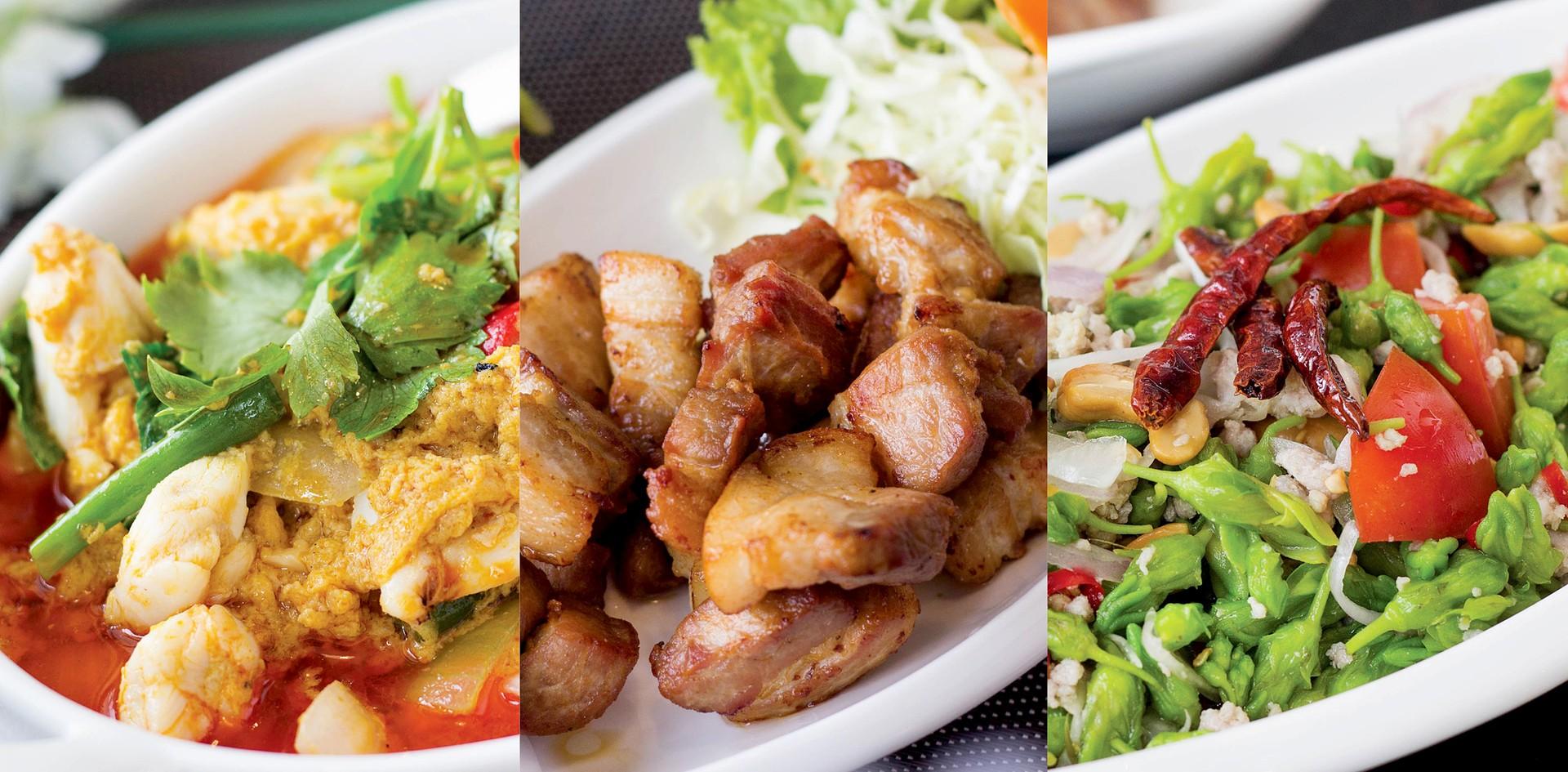 """อาหารไทยปักษ์ใต้ รสเลิศ จากใจ """"Pranee Thai Cuisine"""""""