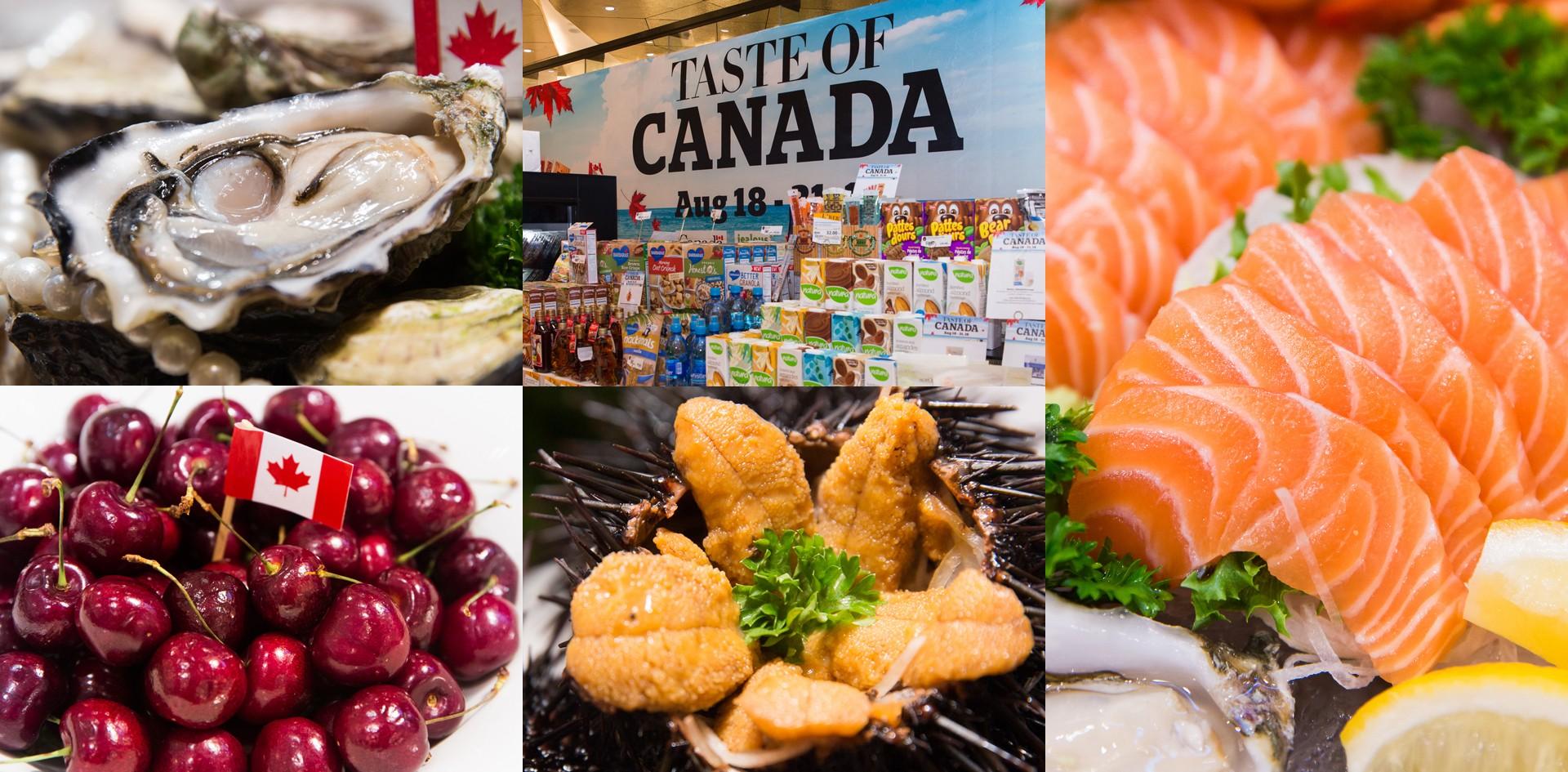 """ลิ้มรสซีฟู้ดชั้นเลิศสดใหม่ ส่งตรงจากแคนาดาในงาน """"Taste of Canada"""""""
