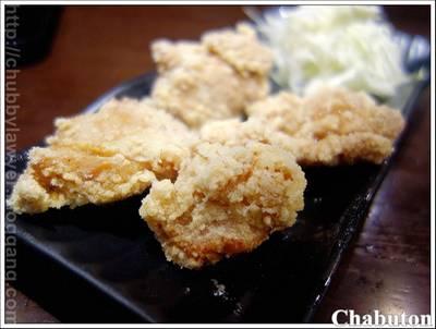 ไก่ทอดคาราอาเกะ ที่ ร้านอาหาร Chabuton เซ็นทรัล เวิลด์