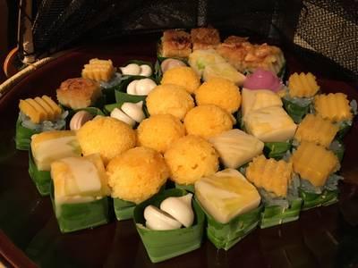 ขนมหวานไทย ที่ ร้านอาหาร You & Mee