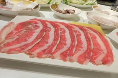 เนื้อพิเศษ ที่ ร้านอาหาร OK SHABU SHABU