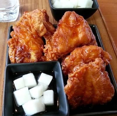 ร้านอาหาร BonChon Chicken เดอะเซอร์เคิล ราชพฤกษ์