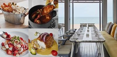 บรรยากาศเต็มสิบ! ซีฟู้ดในห้องอาหารวิวทะเล ISEA Beach Bar & Restaurant