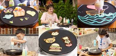 """แพนเค้กแสนสนุก ความสุขที่ออกแบบเองได้ ที่ """"Homemade Pancake"""" บางแสน"""