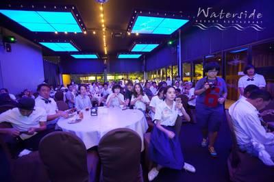งานเลี้ยงปิดกล้อง นางอาย ที่ ร้านอาหาร Waterside Karaoke Restaurant เกษตรนวมินทร์
