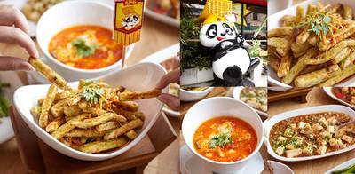 """เบรกแตก! กับเฟรนช์ฟรายส์ฮ่องเต้และอาหารจีนอีกเพียบที่ """"Panda King"""""""