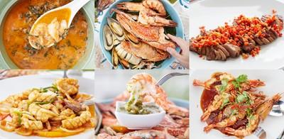 อาหารไทยซีฟู้ดต้องยกนิ้ว ตากลมพลิ้วๆ จากวิวทะเล ที่ Let's eat at sea