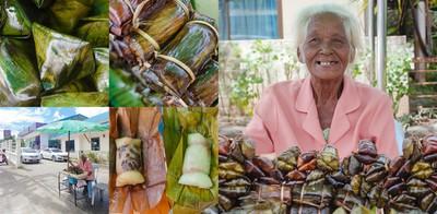 คุณยายวัย 82 ใจสู้! เลี้ยงชีพด้วยข้าวต้มมัด 5 บาท, 10 บาท เมืองภูเก็ต