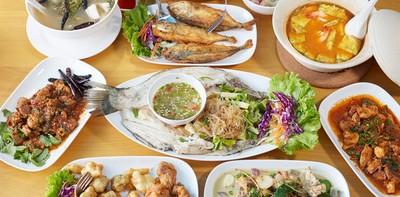"""อาหารไทยพื้นบ้านรสเด็ด แกงคั่วหรือผัดเผ็ด ขอให้บอก! """"Malabar"""" ชลบุรี"""