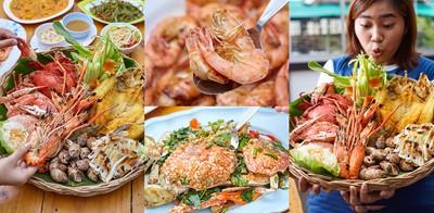 สุดยอดความคุ้มค่า! ซีฟู้ดเซตมหึมา @Seafood champion สาขาบางขุนเทียน