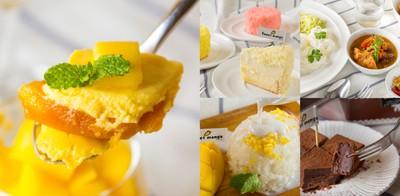 รสฉ่ำทั้งปาก เต็มความหวานรสมะม่วง ที่ น้ำ-ดอก-ไม้ Sweet Mango