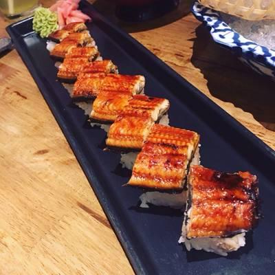Unagi Bou Sushi ที่ ร้านอาหาร Uomasa ทองหล่อ