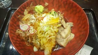 วาฟุ ฮิยาชิ โทริโซบะ ที่ ร้านอาหาร Chabuton เซ็นทรัล พระราม 9