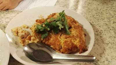 ไข่เจียวหมูสับเมนูธรรมดาแต่ก็อร่อย ที่ ร้านอาหาร ครัวคุณต๋อย