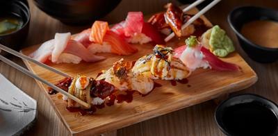ดับเบิลซูชิคำโต ถูก สด ฟิน เริ่มต้นที่คำละ 36 บาทเท่านั้น ที่ Sushi-OO