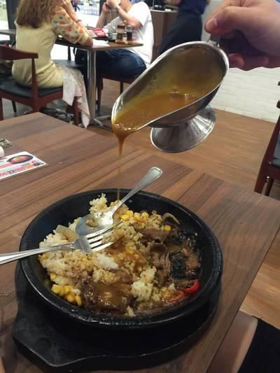 ข้าวเปปเปอร์หมู • รสพริกไทจัดจ้าน ที่ ร้านอาหาร Pepper Lunch เซ็นทรัล เวิลด์