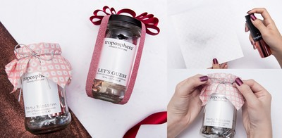 2 เทคนิคห่อของขวัญจากขวดโหลสุดเก๋ แถมกลิ่นหอม ง่าย ๆ คุณก็ทำได้ ヅ