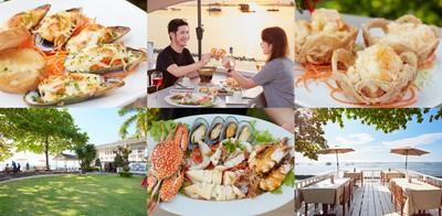 ลิ้มรสอาหารไทย จีน ซีฟู้ด ในบรรยากาศริมทะเลสุดโรแมนติก บ้านเคียงเล