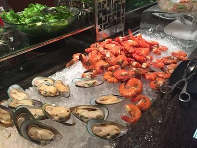 seafood ที่ ร้านอาหาร Espresso โรงแรมอินเตอร์คอนติเนนตัล
