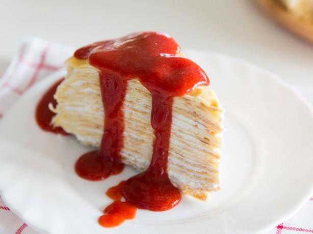เครปเค้กสตรอว์เบอร์รี