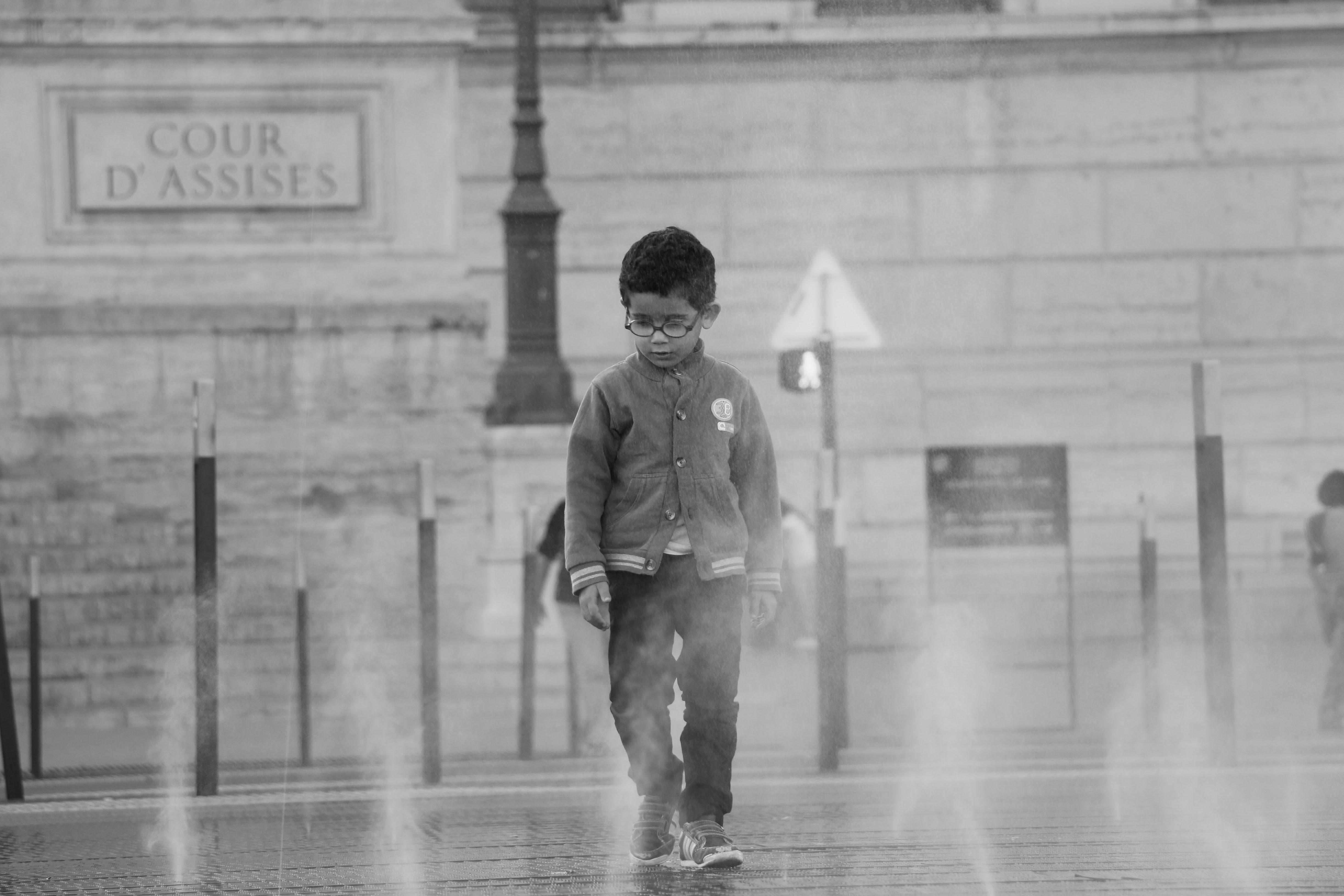 Boy Walking Lyon | France