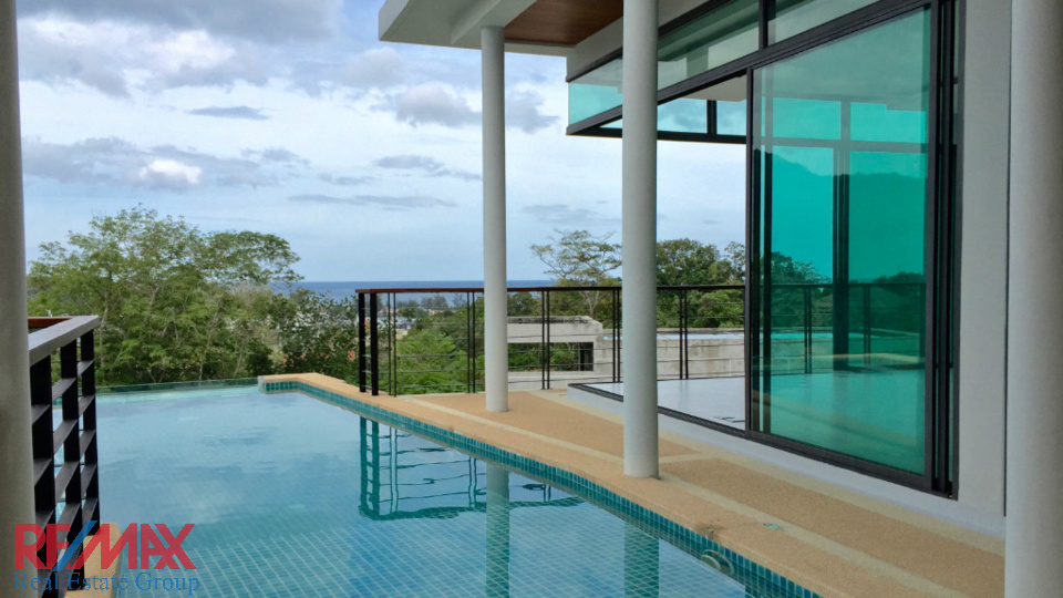 SOLD | KAMALA MODERN POOL VILLA FOR SALE OCEAN VIEW