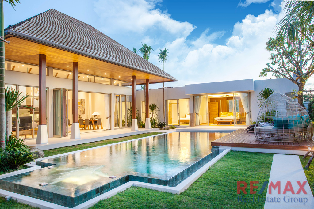 Balinese Style 3 Bedroom Pool Villa Project for Sale in Layan, Phuket