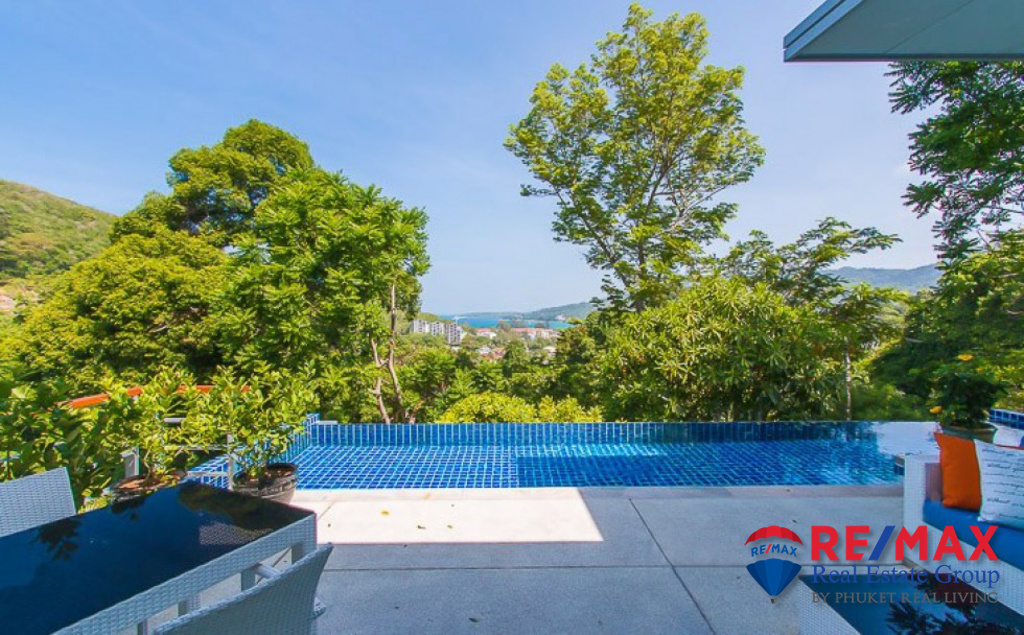 KAMALA HILLSIDE SEA VIEW VILLA FOR SALE