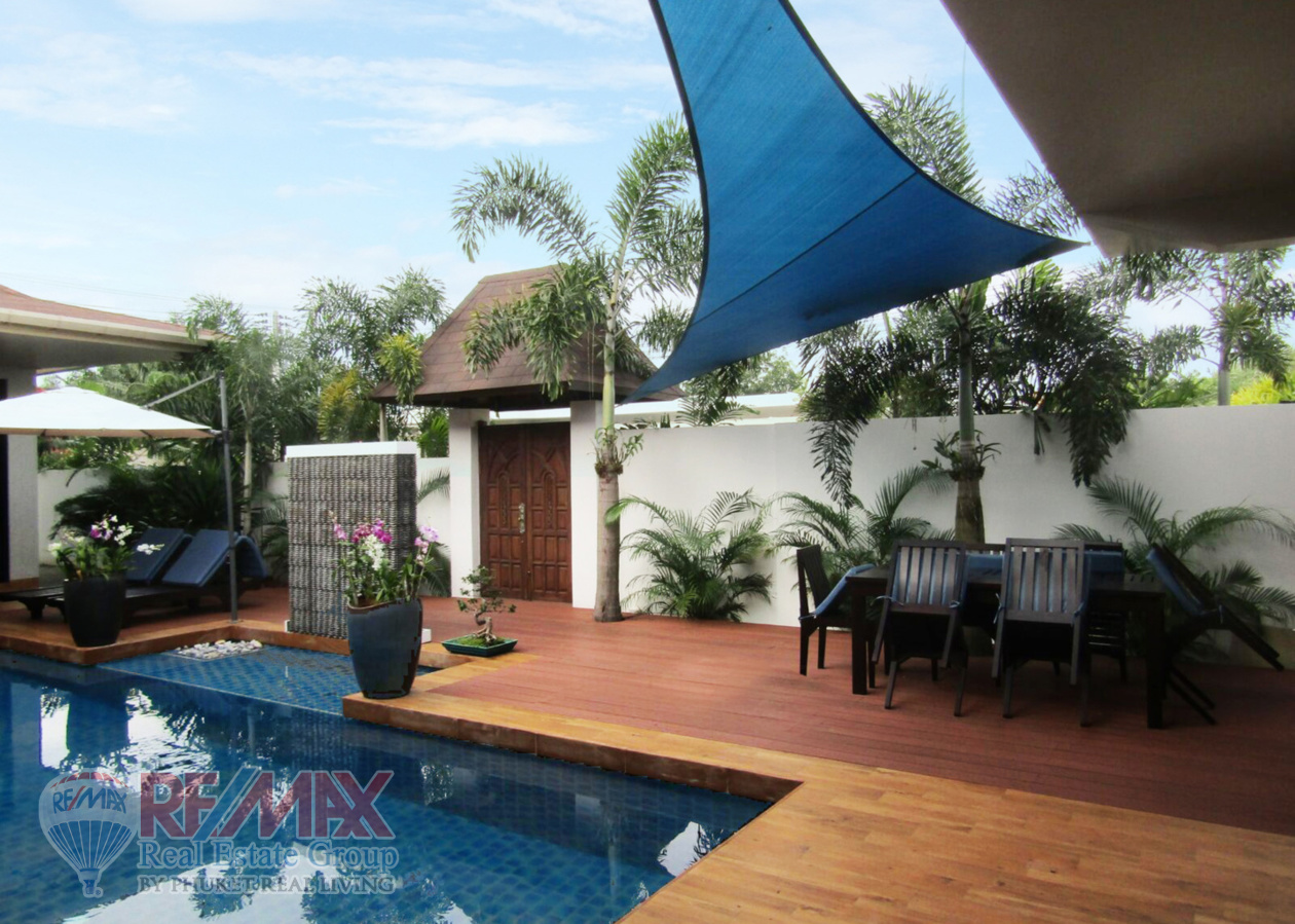 4 BEDROOM PRIVATE POOL VILLA IN CHERNGTALAY