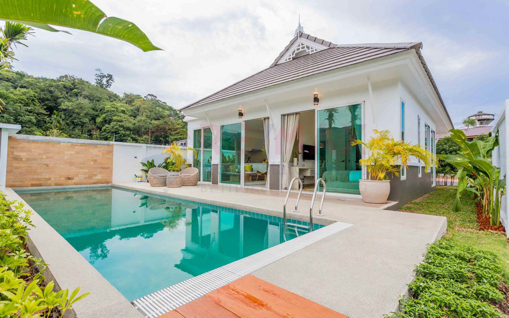 3 BEDROOM POOL VILLA DEVELOPMENT IN KAMALA FOR SALE