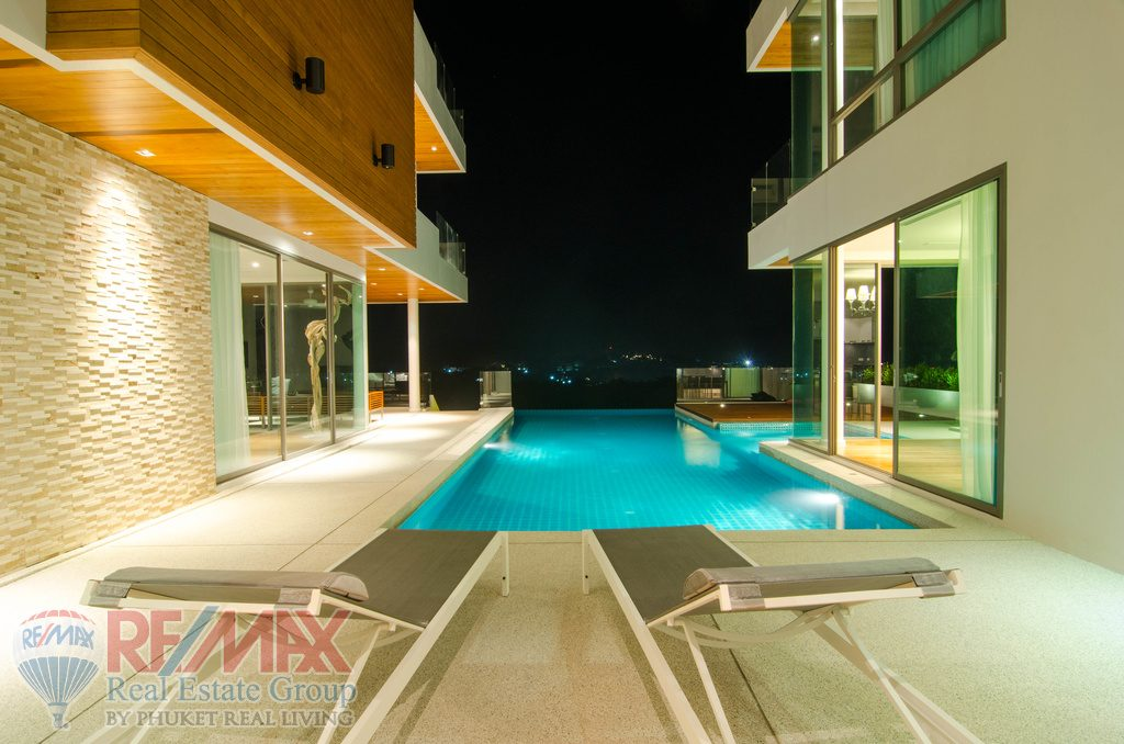 Rawai Villa 6 Bedrooms Pool Villa Modern Style With Sea