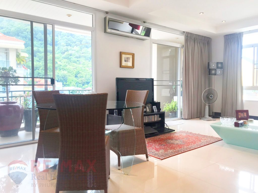 Patong 2 bedroom mountain view condominium for sale re max real estate group for Mountain view 2 bedroom apartments