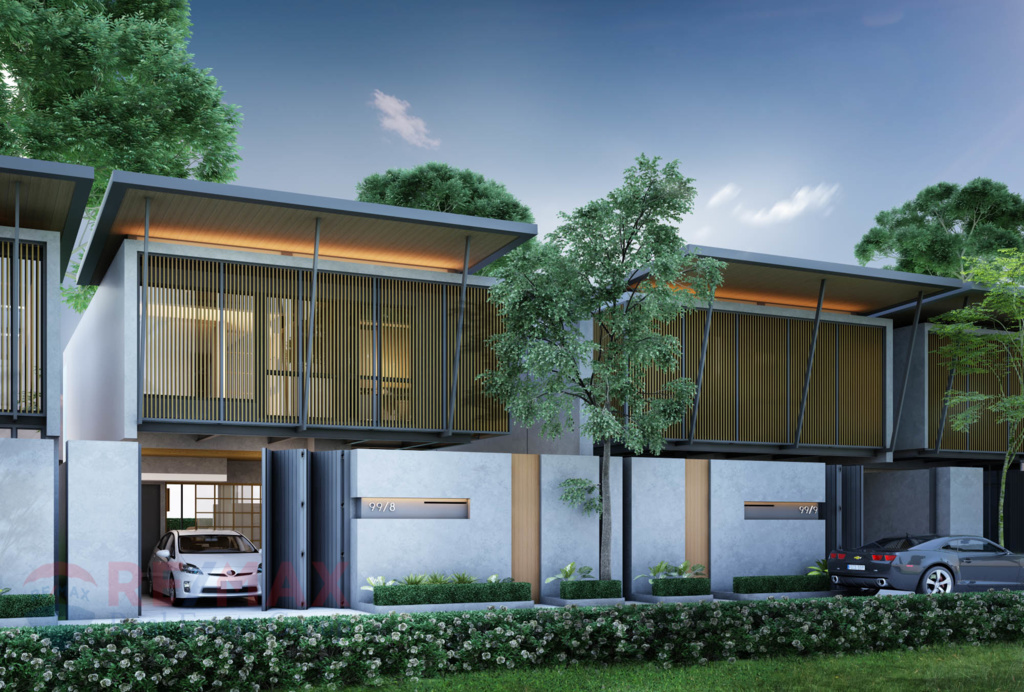 Asian European Fusion Villa Development in Choeng Talay for Sale