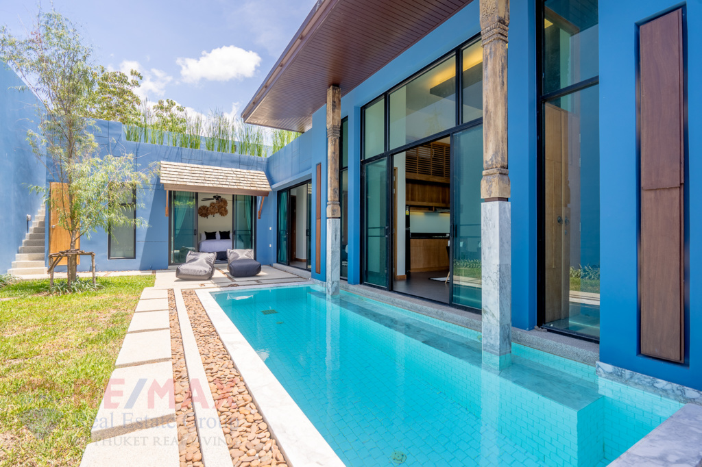 FULLY FURNISHED 2 BEDROOM POOL VILLA IN CHERNGTALAY FOR SALE