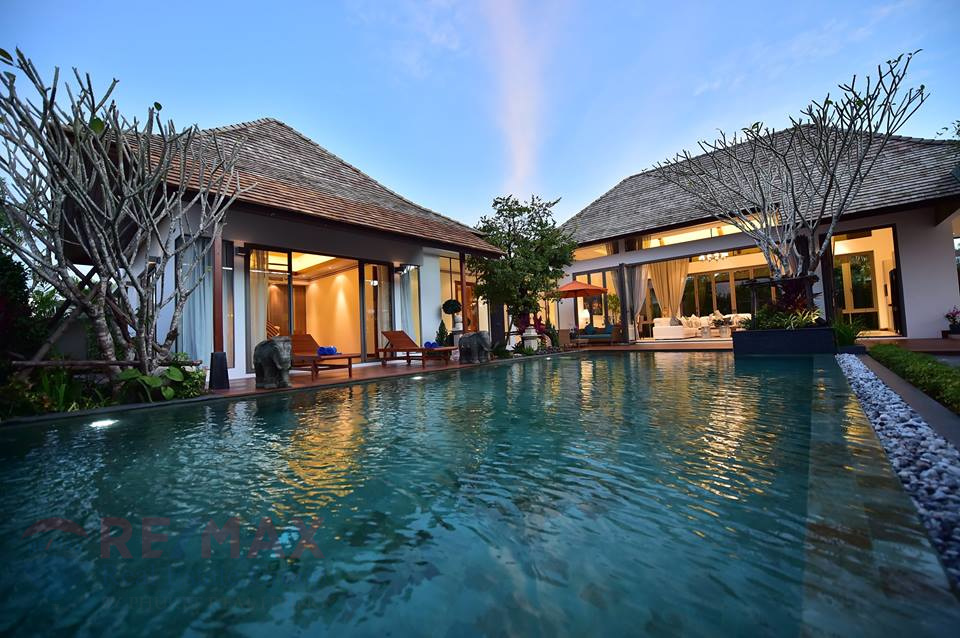 Luxury Pool Villa Development in Choeng Thale for Sale