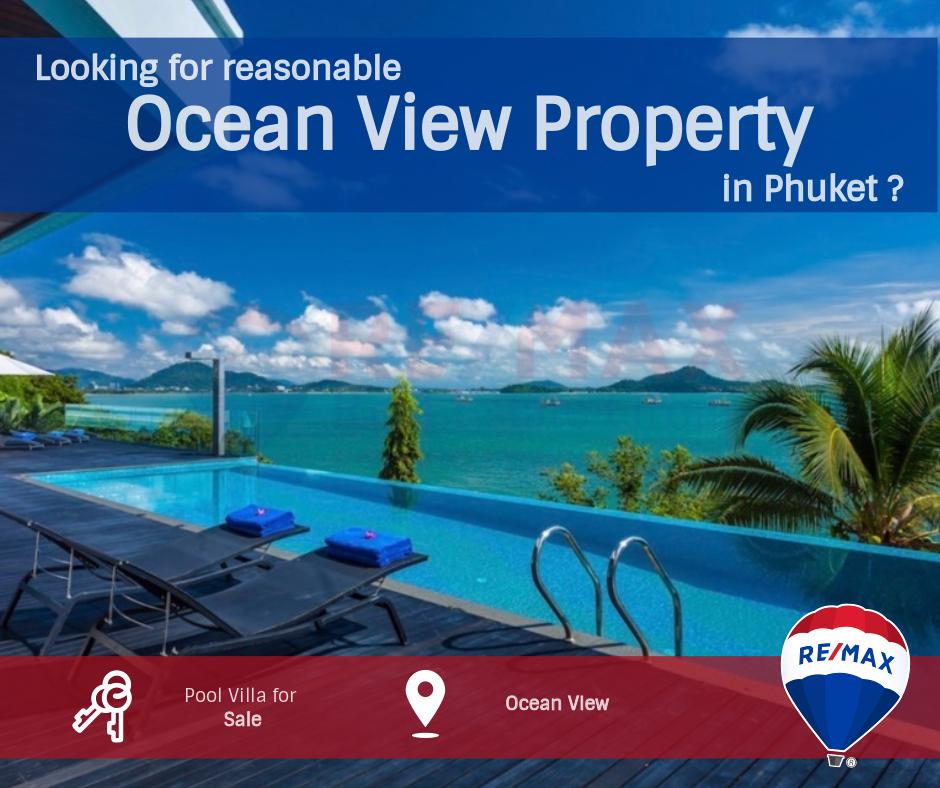 Ocean View Villas in Phuket, Thailand by REMAX, Phuket.