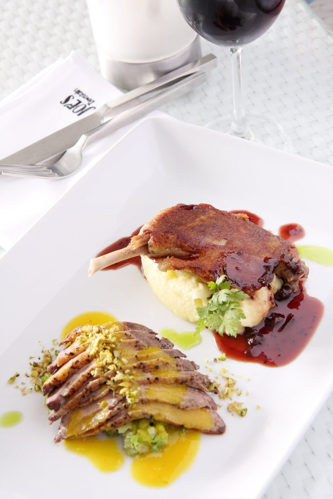 Duck 2 ways, Remax recommended restaurant - Joe's Downstairs, Patong Restaurant, Phuket, Thailand