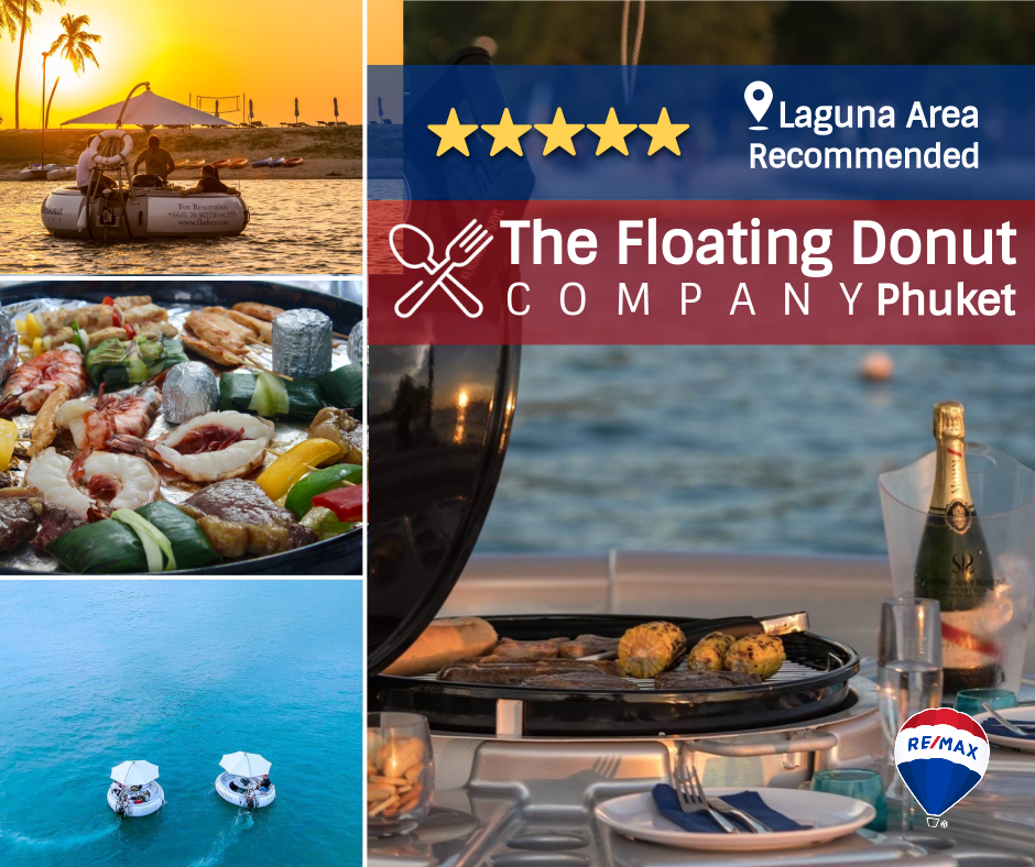 Remax recommended restaurant - The Floating Donut, Laguna, Phuket, Thailand - By Phuket Property