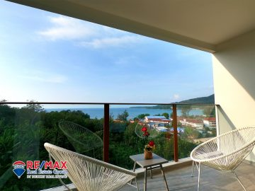 Ocean View 1 Bedroom Apartment for Sale in Kamala, Phuket (C56)