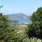 Seaview land for sale in beautiful gated community Patong