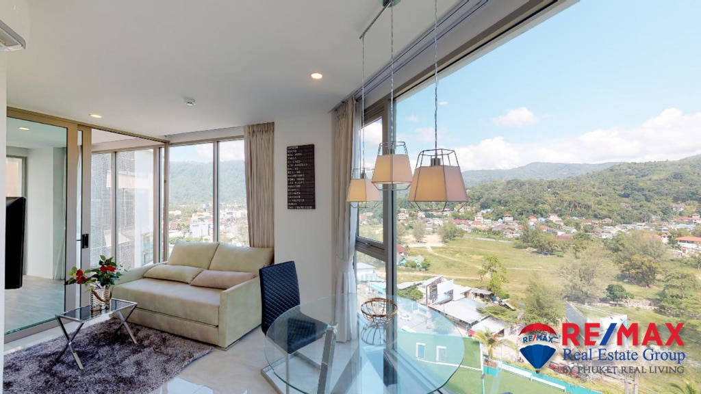 Ocean View 1 Bedroom Apartment for Sale in Kamala, Phuket (B55)