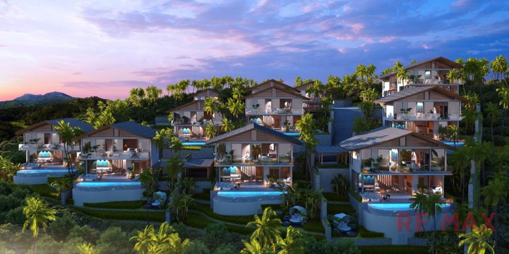 Sea & Mountain View Villa Development for Sale in Kamala, Phuket