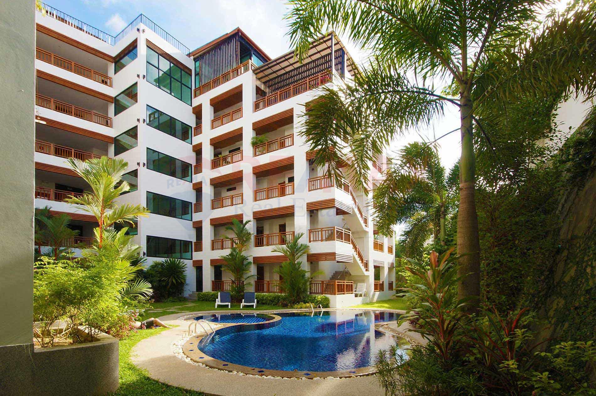 Freehold Studio Apartment near Surin Beach