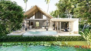 Lake Side Villa Development Near Airport for Sale