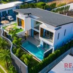 Modern 3 beds pool Villa For Sale in Choeng Thale, Phuket