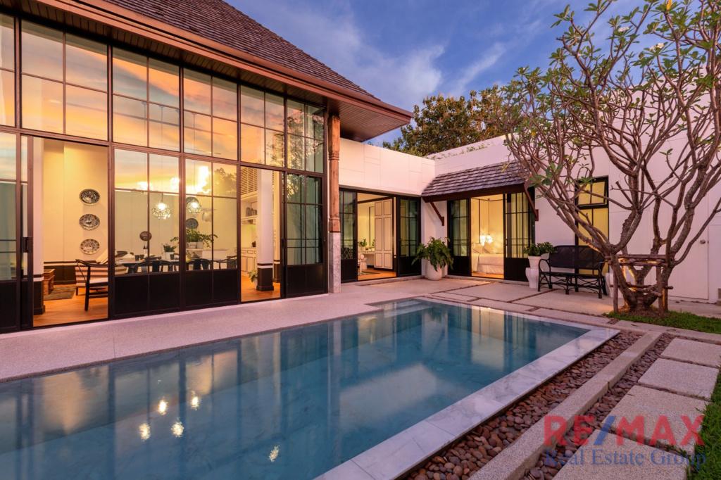 Asian Fusion Pool Villa Development in Choeng Thale
